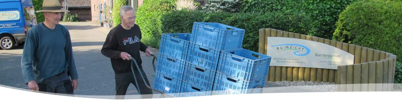 inpakken-groentepakket-Tuinderij Ruimzicht