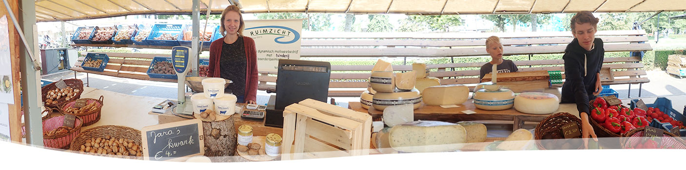 markt BD boerderij Ruimzicht-Jara's kwark
